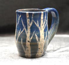 #zenceramics #birchtreemug #birchtree #ceramicmug #cofeemug #handmadepottery #etsyfinds #handmadeceramics