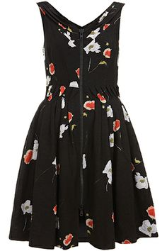 Topshop Kate Moss Collection - printed dress.