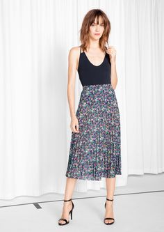 & Other Stories | Ditzy Pleated Skirt