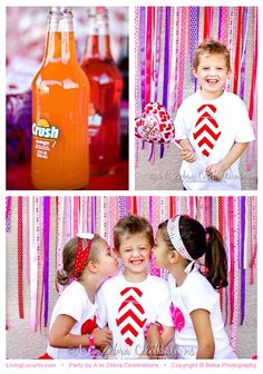 Cute Valentines Day Photo Ideas - Love Crush Party by AtoZebra
