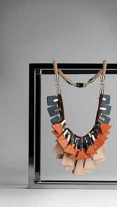 Burberry - GEOMETRIC LAYERED NECKLACE