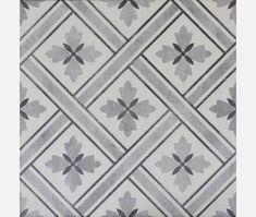 Mrs Jones Charcoal Pattern Wall and Floor Tile - Tiles from Tile Mountain Grey Floor Tiles, Bathroom Floor Tiles, Grey Flooring, Wall And Floor Tiles, Kitchen Floor, Bathroom Wall, Wall Tiles, Floors, Floor Patterns