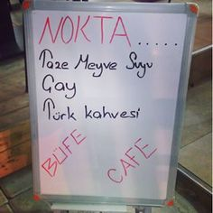 Instagram photo by Nokta Büfe & Cafe (@nokta_bufe_cafe) 11/03/2016 Terasa az kaldi diyelim :) #kurucesme #kirbac #sokak #noktabufe #bufet #bufe #sabahkahvaltısı #tost #hamburger #sosisli #sandwich #doğalmeyvesuyu #türkkahvesi #latte #capiccino #espresso #filtrekahve #muzlusut #instadaily #like4like #likeforlike @nokta_bufe_cafe #hamburger #hamburgers #tazemeyve #doğal #meyve #suyu