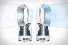 Dyson Humidifier. Using Ultraviolet Cleanse technology, it kills 99.9% of bacteria in the water, which is more than you can say for most of its competitors. It also leverages the company's bladeless Air Multiplier technology to project its mist evenly throughout the room, using temperature and humidity sensors to keep you in your comfort zone, and doubles as a high-velocity fan when humidification isn't needed.