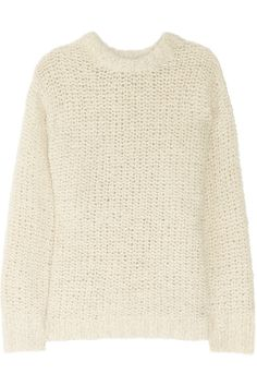Isabel Marant | Quena chunky-knit wool and alpaca sweater | NET-A-PORTER.COM