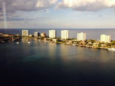 Amazing view w/ crystal clear waters in Boca Raton Florida. Would you like to live here?