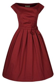 Fashion Bug Plus Size Women's 'Lucille' Classy 50's Vintage Style Pleated Rock N Roll Party Dress  www.fashionbug.us