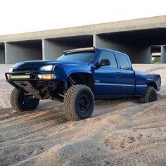 Silverado prerunner Hot Rod Trucks, Diesel Trucks, Custom Trucks, Cool Trucks, Pickup Trucks, Lifted Trucks, Silverado Prerunner, 1999 Chevy Silverado, Chevy 2500hd