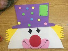 Creative Decor, Creative Kids, Carnival Crafts, Birthday Charts, Messy Art, Art Story, Class Decoration, Pre School, Happy Day