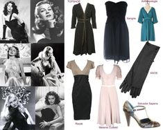 40s hollywood glamour | Fashion World's Return to 40s Glamour | Fashion Directory