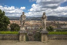 Firenze, Tuscany, Italy- Florence View from the Boboli's Gardens -Photo by Emanuele Del Bufalo