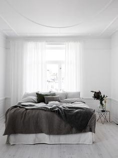 White & pure inspiration at its best! | Styling by Lotta Agaton | Photo by Kristofer Johnsson for Swedish Residence magazine Follow Style and Create at Instagram | Pinterest | Facebook | Bloglovin