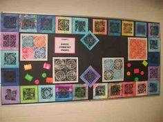 """Создать искусство со мной !: 6-го класса Radial Symmetry с пеной """"Тарелки"""""""