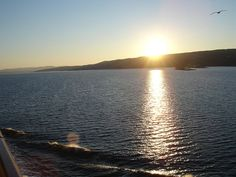 DSC00422, Sunrise Oslo Fjord, Oslo, Norway by jimg944, via Flickr Norway Forest, Norway Nature, Norway Beach, Norway Places To Visit, Foggy Mountains, Norway Travel, Sunrise, Blog, Cruise
