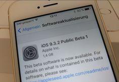 iOS 9.3.2 Public Beta 1 releast - https://apfeleimer.de/2016/04/ios-9-3-2-public-beta-1-releast - Kurz nach dem Release der Developer Beta veröffentliche Apple nun die erste Public Beta von iOS 9.3.2. Wirft man einen Blick in entsprechende Foren, dann haben einige User nach wie vor mit Systemabstürzen oder Safari-Freezes zu kämpfen. Die neuste Version soll für mehr Stabilität sorgen und (hof...