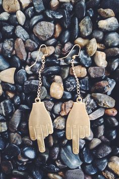 Middle Finger earrings by AliiFuerza on Etsy, $17.00
