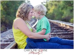 Mother & Son | Family Session | Caroline Horne Photography