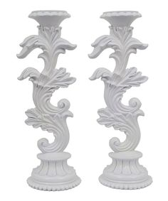 Look at this #zulilyfind! Décor Therapy Blooming Candleholder - Set of Two by Décor Therapy #zulilyfinds
