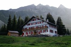 Der Alpengasthof Edelweiss