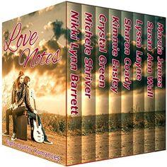 Love Notes: Eight Country Romances by Nikki Lynn Barrett http://www.amazon.com/dp/B01AU115H0/ref=cm_sw_r_pi_dp_TA9hxb11NPAXG