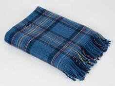 "Blue Toon Blanket (This is the tartan of Peterhead aka: ""The Blue Toon"") My Heritage, Tartan, Lana, Celtic, Blanket, Outlander, Scotland, Blue, Bedroom"