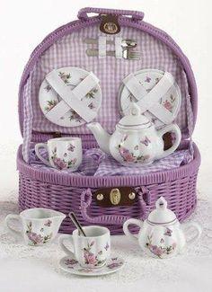 tea in a basket