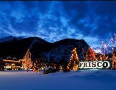 Frisco, CO  What a great little mountain town.