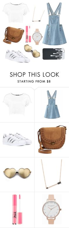 """#3"" by annisyaar on Polyvore featuring Boohoo, adidas Originals, SONOMA Goods for Life, Wildfox, Sydney Evan, Too Faced Cosmetics and Olivia Burton"
