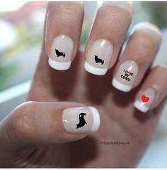 Corgi Love Nail Art, Dog Park Publishing