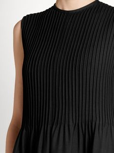 Valentino Pintuck-pleated gown Fabric Manipulation, Pin Tucks, Wool Blend, Evening Dresses, Valentino, Women Wear, Gowns, Fashion Design, Collection