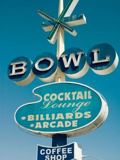 Bowl. @Ann Nyberg, I think you'll like this vintage sign, too.