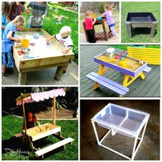Top 10 Backyard Sandbox Ideas Sand Tables