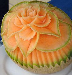 Flowering Cantaloupe