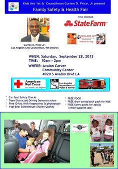 Free Car seat check & much more