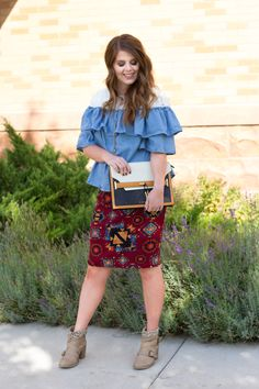 Aztec and Chambray