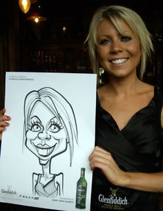 Picture this...the Art of Anthony Pascoe: Live Caricature at the Quiet Man Bar