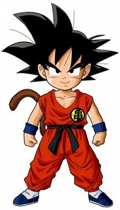 Goku (Dragon Ball) (c) Toei Animation, Funimation & Sony Pictures Television Chibi, Illustration, Anime Dragon Ball, Art, Anime, Cartoon, Dragon, Anime Movies, Kid Goku