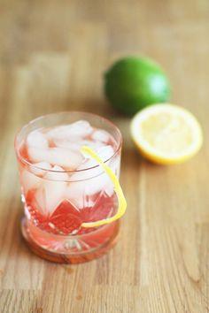 Spring Fling Cocktail  1 1/2 oz whiskey  Sparkling raspberry juice Fresh lemon and lime juices