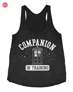 Love this! Companion in Training  Triblend Racerback Ladies by Starshipmates, $24.65