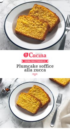 Plumcake soffice alla zucca Authentic Italian Tiramisu Recipe, Italian Recipes, My Favorite Food, Favorite Recipes, Sweet Corner, Plum Cake, Sweet And Salty, Something Sweet, Sweet Desserts