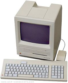 Apple Macintosh SE (20MB hard drive) - my high school graduation gift from my parents. Thanks, Mom & Dad!