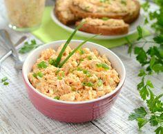 Gotuj z Cukiereczkiem: Pasta z łososia i jajek