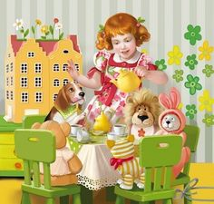 Художник-иллюстратор Татьяна Доронина. Little Boy And Girl, Little Boys, Boy Or Girl, Me And My Dog, Disney Princess, Pets, Disney Characters, Children, Artist