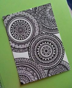 Drawing patterns doodles circles 56 Ideas for 2019 Cute Doodle Art, Doodle Art Drawing, Zentangle Drawings, Cool Art Drawings, Pencil Art Drawings, Zentangle Patterns, Art Drawings Sketches, Zentangles, Mandala Sketch