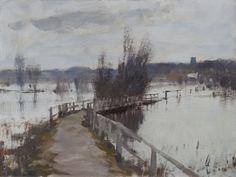 Edward Seago | Flood Water, Near Beccles