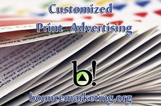 Building Awareness for you Company - Bounce Marketing Foundation can help bolster business for your company through a successful print marketing campaign. www.bouncemarketing.org | 844-319-9600