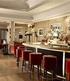 Try a cocktail in the art deco bar at Claridge's http://www.homesandproperty.co.uk/your_home_and_garden/shopping_and_design_news/thegreatgatsbyglamour.html
