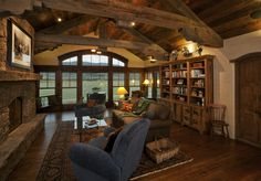 Foxworth-Galbraith manufactures timber trusses like these!