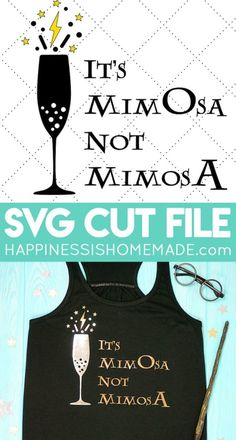 """Harry Potter Mimosa Shirt SVG - """"It's MimOsa Not MimosA!"""" This funny Harry Potter mimosa shirt is perfect for brunch fans! Use our Harry Potter SVG file to create your own shirts, tote bags, and more! Funny Harry Potter Shirts, Harry Potter Free, Funny Shirts, Funny Christmas Shirts, Christmas Humor, Christmas Vinyl, Christmas Brunch, Brunch Shirts, Create Your Own Shirt"""