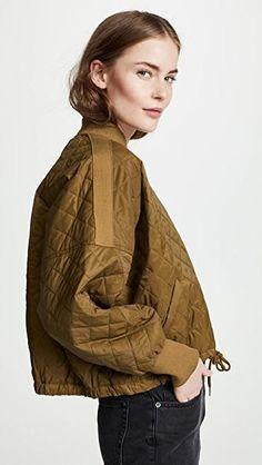 China Fashion, Mode Inspiration, Fashion Fabric, Quilted Jacket, Textile Design, Silhouettes, Bomber Jacket, Street Style, My Style